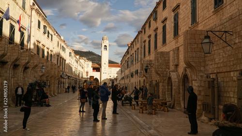 Photo  Dubrovnik Old Town in Croatia.