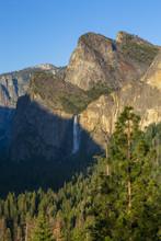 Yosemite Valley And Bridalveil...