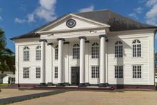 Neveh Shalom Synagogue In Paramaribo In Surinam