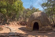 Replica Zulu Hut At The Voortr...