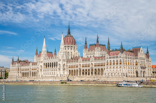 View of Budapest parliament, Hungary