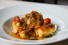 Baccala And Tomatoes Roman Plate