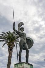 Statue Of Achilles In Achillei...