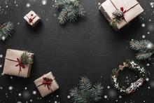 Christmas Composition. Xmas Or...