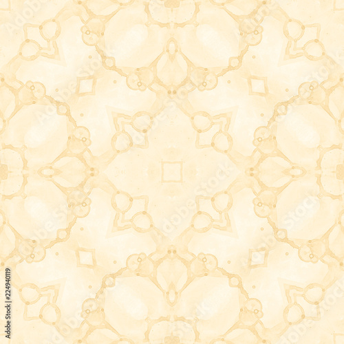 Fotografía  Yellow seamless pattern