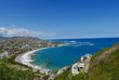 A view overlooking the scenic Frigate Bay in St. Kitts, West Indies