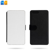 Blank Mobile Phone Case Isolated On White Background. Template Of Phone Cover For Your Design. Clipping Paths Object.