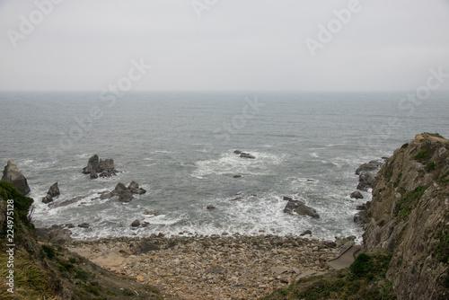岩場と海岸 銚子