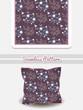 Pillow Flowers On Purple