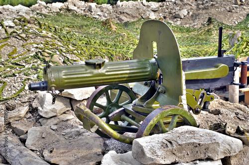 Fotografía  Old Machine Gun