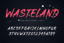 Wasteland Vector Brush Style F...