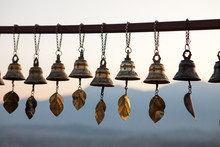Prayer Bells At Svayambunath S...