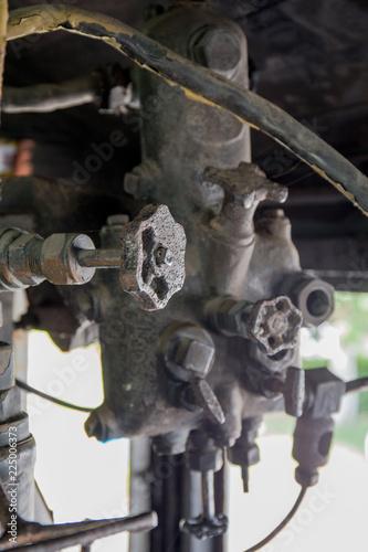 Fotografie, Obraz  古い汽車