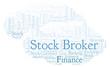 Stock Broker word cloud.