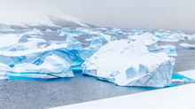 Cold Still Waters Of Antarctic...