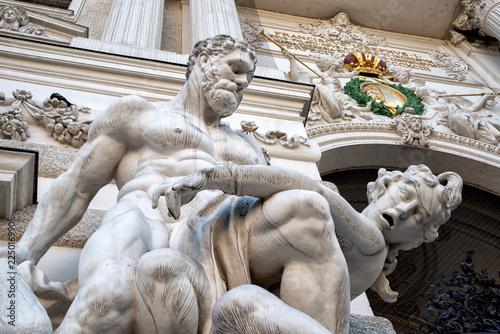 Herkules und der Gürtel der Amazone Hippolyta, Hofburg Wien