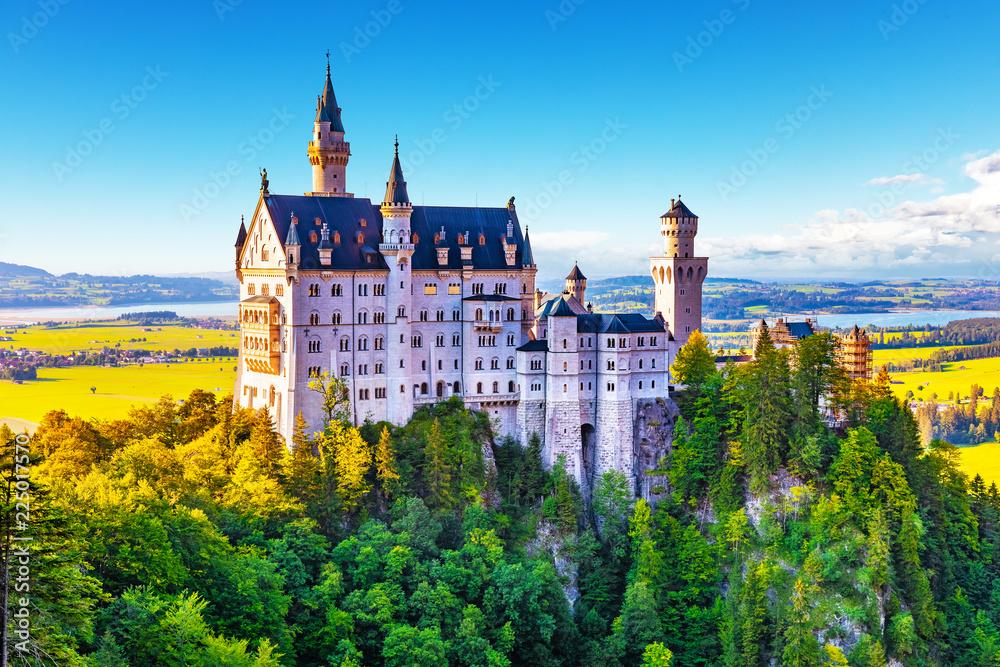 Fototapety, obrazy: Neuschwanstein Castle, Bavaria, Germany