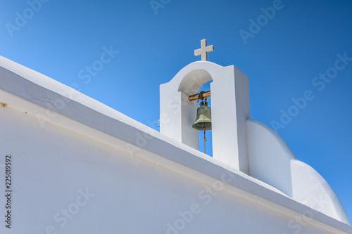 Fotografie, Obraz  CHIESA TIPICA CICLADICA, DETTAGLIO