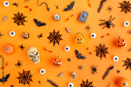 Halloween object background