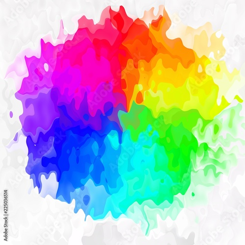 abstract stained pattern texture square background full color spectrum conical n Canvas-taulu