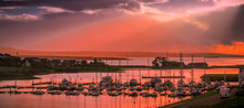Kilrush Marina Sunset