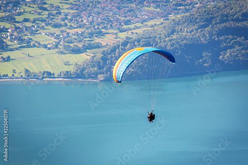 Lago di Como (IT) - Volo con parapendio sopra Gera Lario Tapéta, Fotótapéta