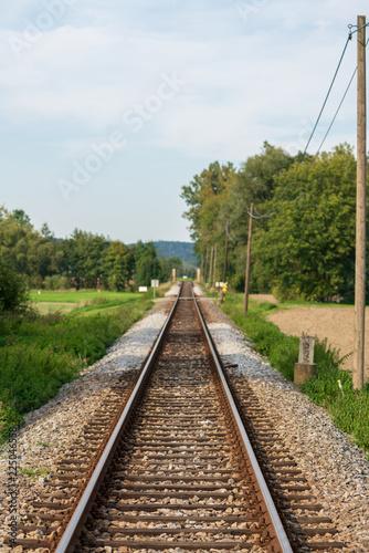 In de dag Spoorlijn Zuggleise