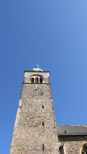 Bell Tower Of Church In Poland