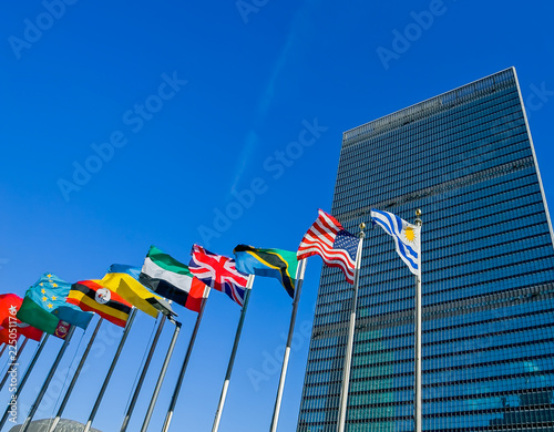United Nations headquarters Wall mural