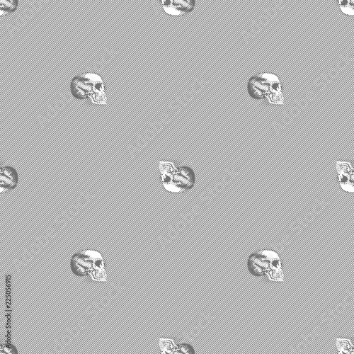 Monochrome Black White Lines Stripes Background Wallpaper Skulls Pattern Halloween Buy This Stock Vector And Explore Similar Vectors At Adobe Stock Adobe Stock