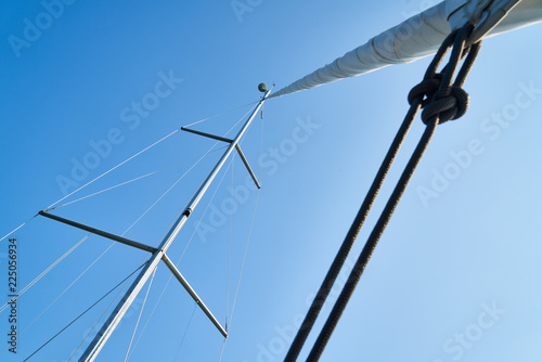 Fotografie, Obraz  Sailboat Poles