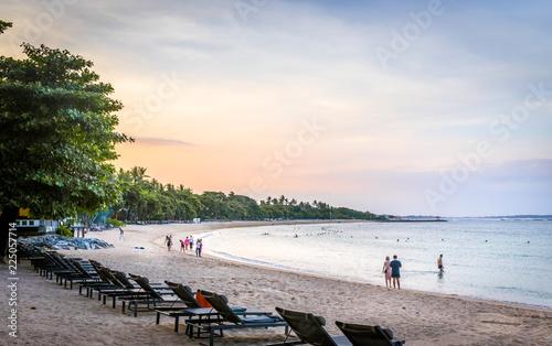 Staande foto Strand Paradise balinese sandy beach