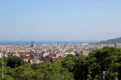 Fotografie, Obraz  Vue sur Barcelone