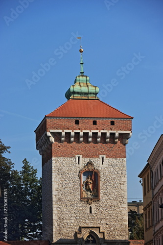 Cracovia, old town