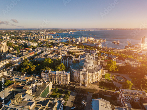 Photo  Odessa from the top