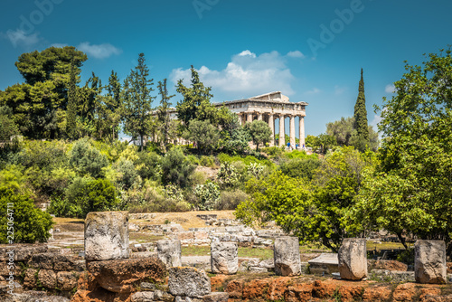 Temple of Hephaestus in Agora, Athens, Greece