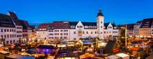 Weihnachtsmarkt In Freiberg, E...
