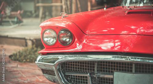 In de dag Vintage cars Old Car Collection