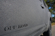 OFF ROAD Logo On SUV With Text...