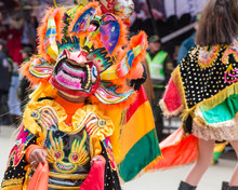 Oruro Bolivia, Famous Masked D...