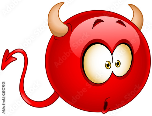 Carta da parati Wonder devil emoticon
