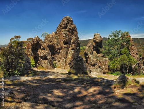 Foto op Aluminium Oceanië Hanging rock-a mystical place in Australia, Victoria
