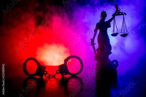 Legal law concept Canvas