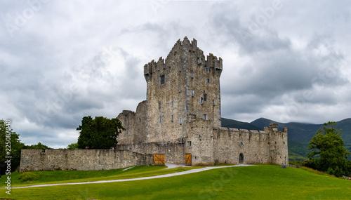 Poster Landscapes Irish Castle Ruins