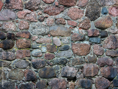 In de dag Stenen Old stone texture. Ancient masonry background. Wall of the medieval city, castle retro background