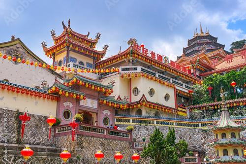 Spoed Foto op Canvas Bedehuis Kek Lok Si Temple on Penang island, Georgetown, Malaysia