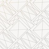 geometric vector pattern, repeating square with different size with cross line at center of each subject. graphic lean for wallpaper, printing, fabric and background. pattern is on swatches panel. - 225114118