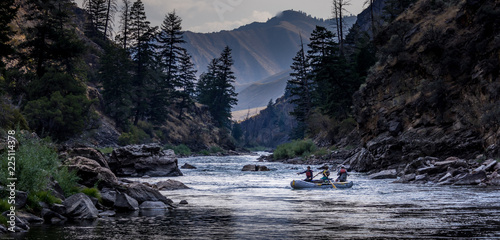 Tablou Canvas Wilderness River Float Trip