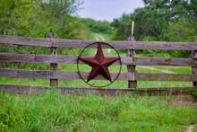 Texas Rustic Star On Countrysi...