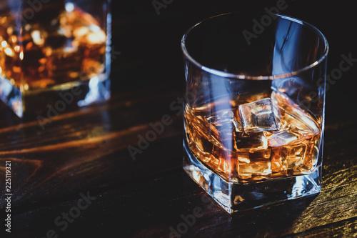Foto Whisky, whiskey or bourbon